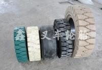 实心轮胎组合
