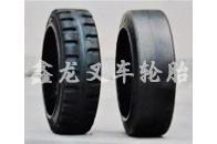 21×8×15钢圈压配式实心轮胎